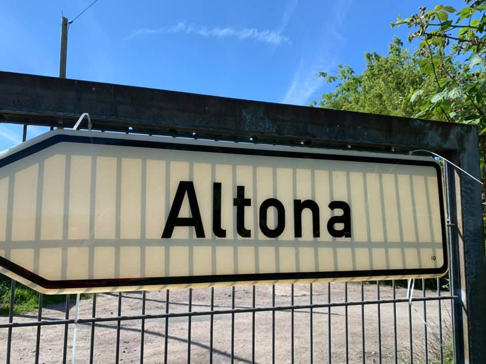 Einfahrt Altona